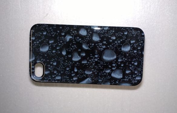 Coque Iphone  Noir Brillant